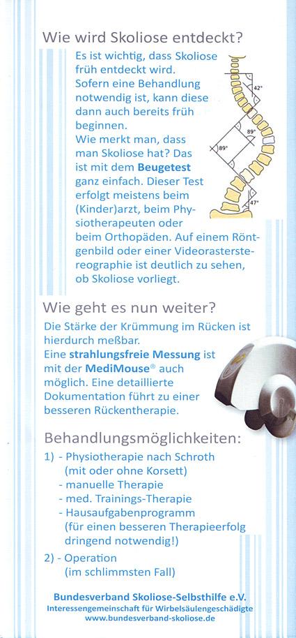 Patienteninformation - Michael Zuidberg Physiotherapie UG in 47839 Krefeld